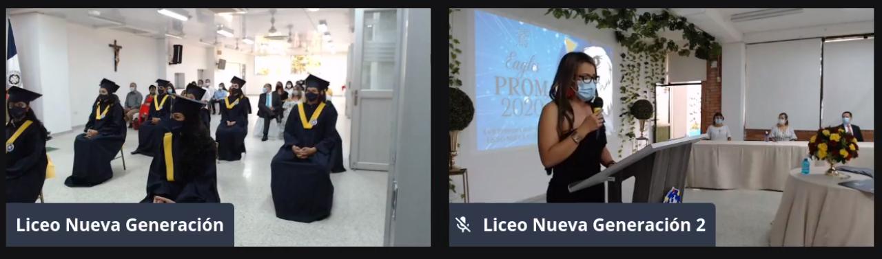 Ceremonia de Graduación de la XVII Promoción de Bachilleres del Liceo Nueva GeneraciónCeremonia de Graduación de la XVII Promoción de Bachilleres del Liceo Nueva Generación