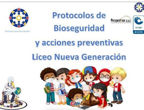 Conozca las medidas de bioseguridad adoptadas por el Liceo para la alternancia segura y gradual